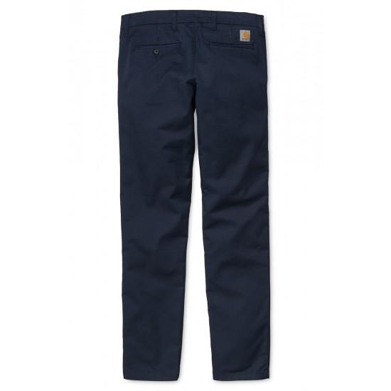 Carhartt - Pantalon chino Sid Pant Navy