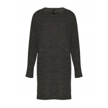 B.young - Robe gris chiné manches longues