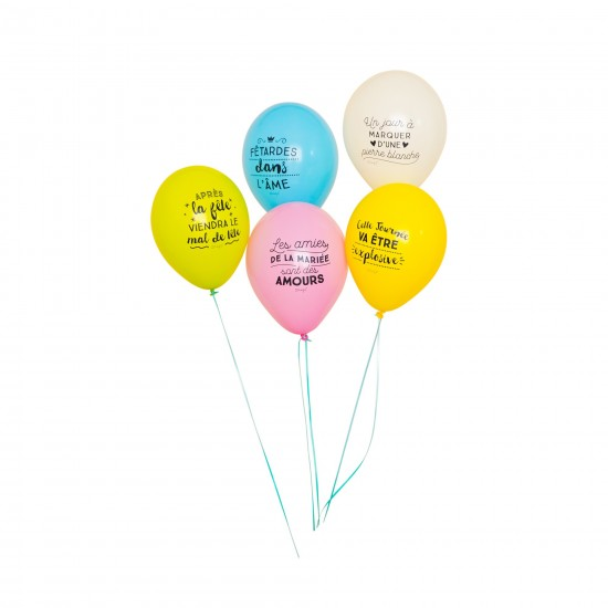 Mr wonderful - Ballons gonflables enterrement vie de jeune fille