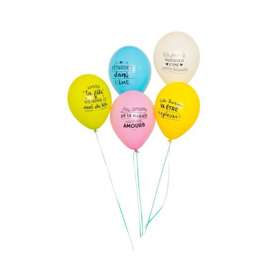 Mr wonderful - Ballons gonflables enterrement vie de jeune fille