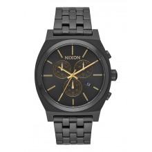 Nixon - Time Teller Chrono All Black / Gold