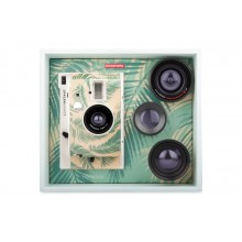 Lomography - Lomo'instant Honolulu- Appareil photo instantané avec 3 objectifs