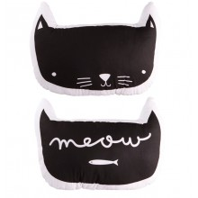 A Little Lovely - Coussin chat meow