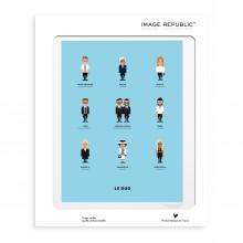 Affiche Le Duo Créateurs 2 30x40 - Image Republic
