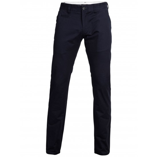 Selected homme - Pantalon chino bleu marine regular