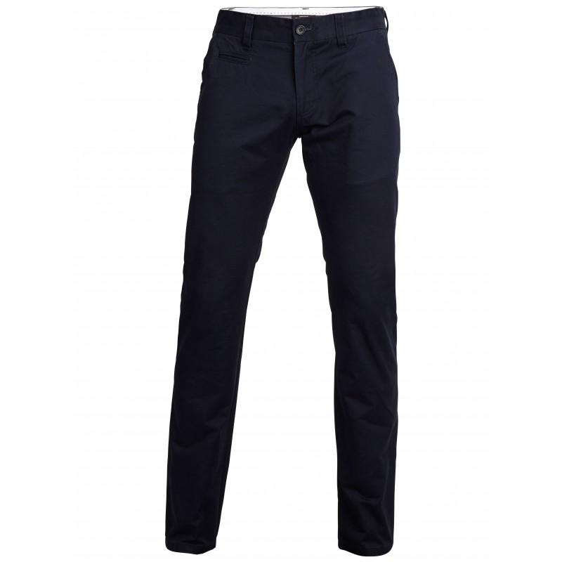 selected homme pantalon chino bleu navy regular. Black Bedroom Furniture Sets. Home Design Ideas