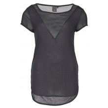 Ichi - T-shirt gris foncé femme
