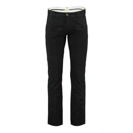 Selected homme - Pantalon chino noir regular