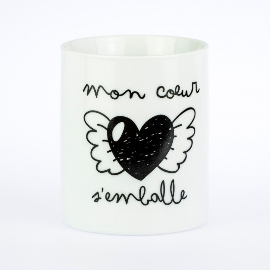 Mr wonderful - Mug Mon coeur s'emballe