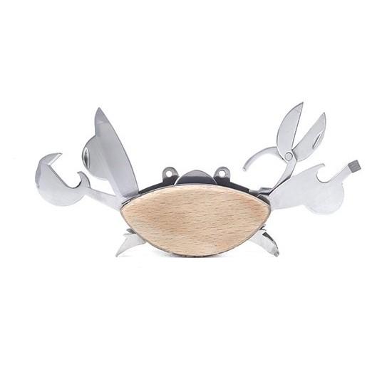 Kikkerland - Outil multi-fonctions en forme de crabe