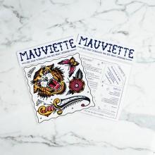 Mauviette | Planche Tatouage Perle/Tiger