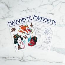 Mauviette | Planche Tatouage Inaki Beaskoa