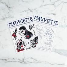 Mauviette | Planche Tatouage German Canalla