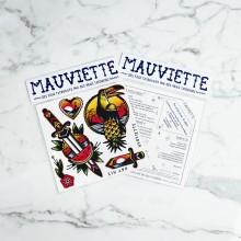 Mauviette | Planche Tatouage Kim-Anh Nguyen