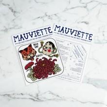 Mauviette | Planche Tatouage Pauline Tabur