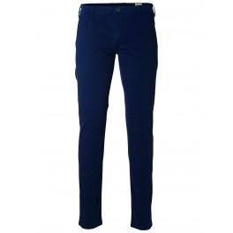 Selected homme - Pantalon chino bleu marine skinny