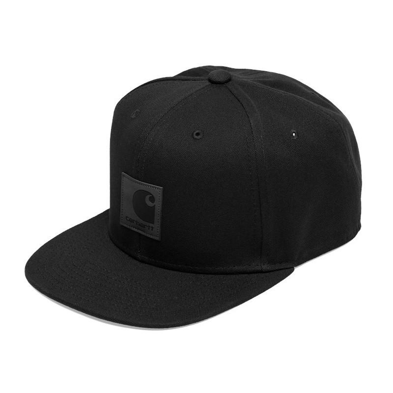 87829a244e3 Carhartt WIP - Casquette noire logo cap. Loading zoom