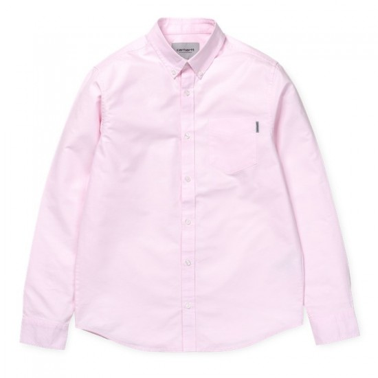 Carhartt WIP - Chemise rose pâle