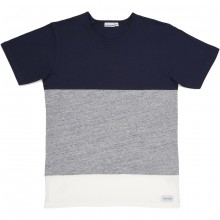 Bask in the sun - T-shirt tricolore homme