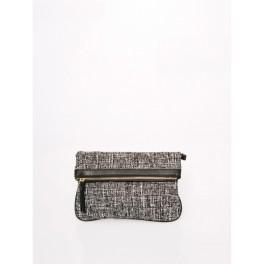 loreak mendian pochette noire et blanche femme. Black Bedroom Furniture Sets. Home Design Ideas