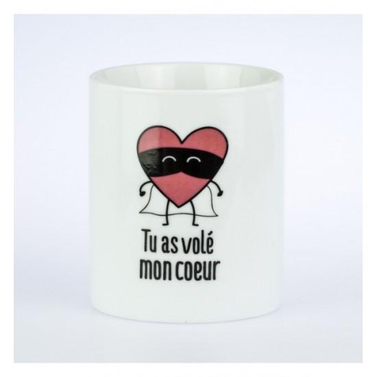 Mr wonderful - Mug Tu as volé mon coeur