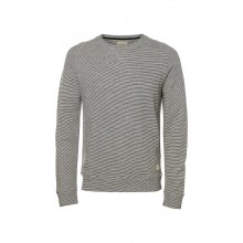 Selected - Sweat à fines rayures homme