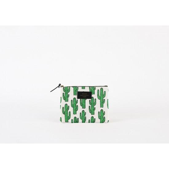 Woouf - Pochette large imprimé cactus