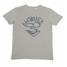 Olow - T-shirt gris homies