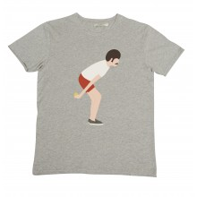 Olow - T-shirt gris petanque