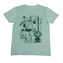 Olow - T-shirt beach homme