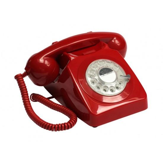 GPO - Téléphone rouge rétro 746