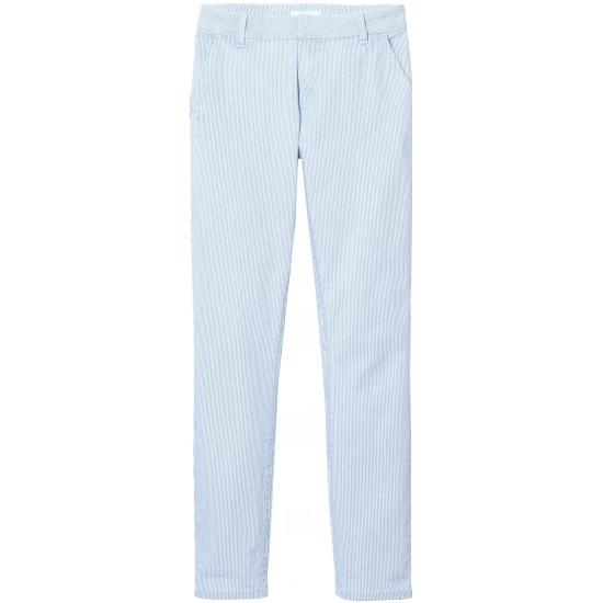 Lab Dip- Pantalon à fines rayures femme