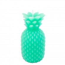 Sunnylife - Bougie ananas turquoise