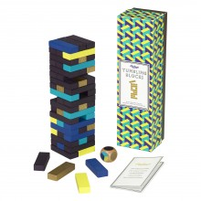 Wild & Wolf - Jeu du Tumbling Blocks