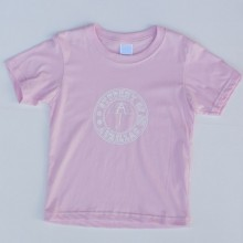 T-shirt Enfant Student of Aurillac Rose-Blanc