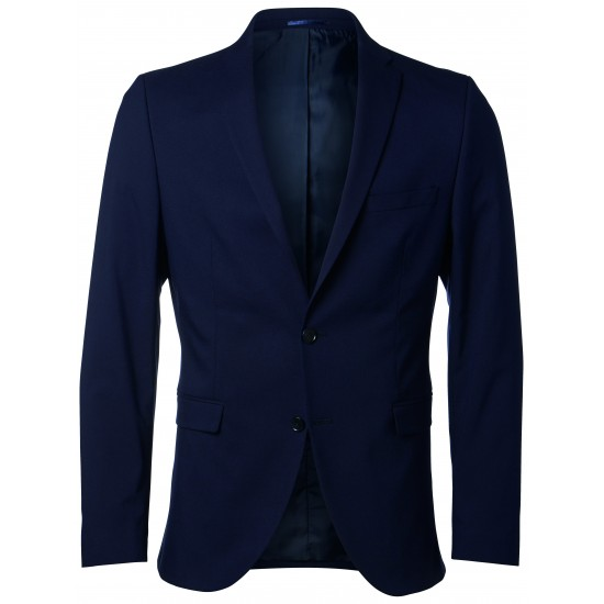 Selected - Veste costume bleu marine slim fit