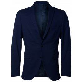 b454a3a36633c Selected - Veste costume bleu marine slim fit
