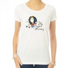 T-shirt femme Ma super Maman