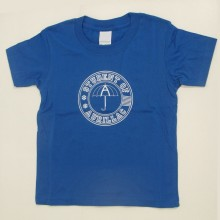 T-shirt Enfant Student of Aurillac Bleu-Blanc