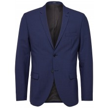 Selected - Veste costume bleu royal slim fit