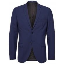 Selected - Veste costume bleu royal slim fit
