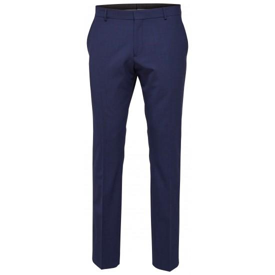 Selected - Pantalon costume bleu royal