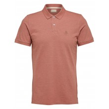 Selected - Polovieux rose chiné broderie vieux rose