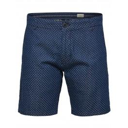 Selected - Bermuda en jeans imprimé