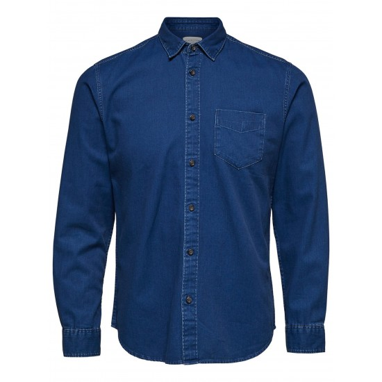 Selected - Chemise en jeans homme