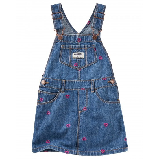 Salopette robe OshKosh denim coeur