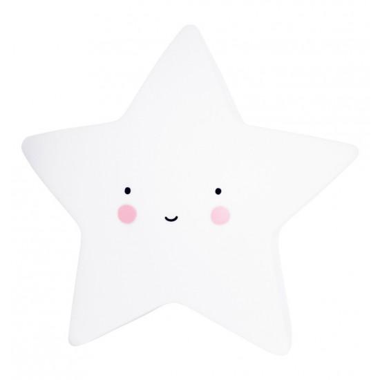 A Little Lovely - Veilleuse étoile blanche