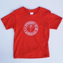 T-shirt Enfant Student of Aurillac Rouge-Blanc