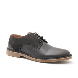 d7d1b41f65a Selected - Chaussures en cuir et daim marron