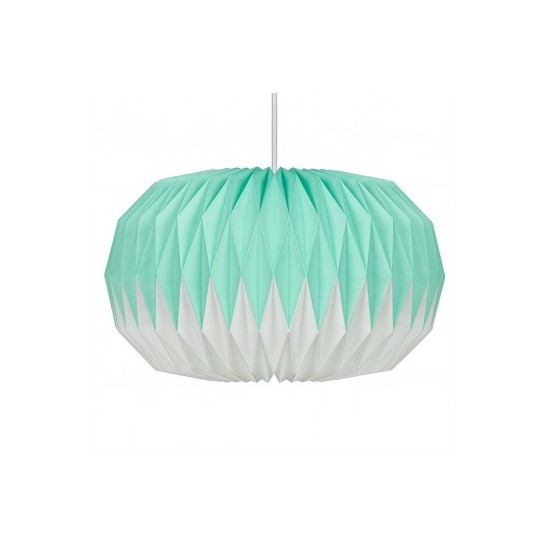 Wild & Wolf - Suspension luminaire en papier Mint Green